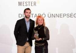 A MOL Mester-M díjat vehetett át a veszprémi táncpedagógus