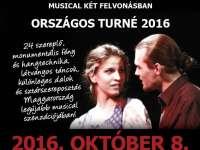 Országos turnén a Budapesti Showszínház - október 8-án Veszprémben is Édes Anna musical!