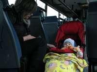 Kedvezményes buszbérlet Veszprémben a gyermeket nevelőknek