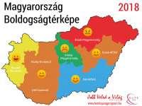 Ismét elkészült Magyarország boldogságtérképe
