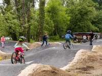 Megnyílt az ország legnagyobb kerékpáros pumpapályája Tatán